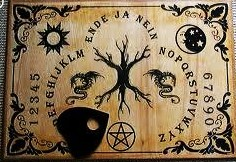 how to make a homemade ouija board planchette