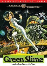 The Green Slime - cover