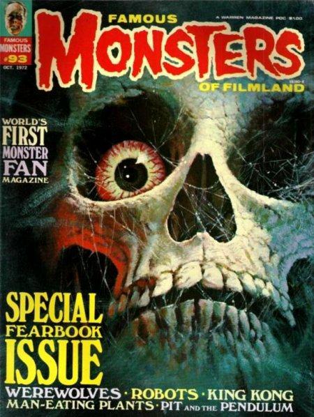 Horror Art Famous Monsters Cover Art Parlor Of Horror