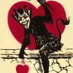 valentines - krampus