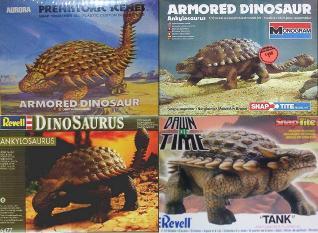 ankylosaurus reissues
