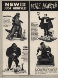 monster model ads