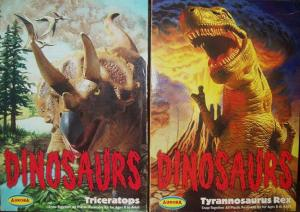 t rex and triceratops