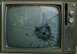 broked-tv-set