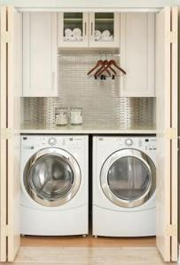 laundry room - hide here