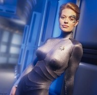 seven of nine - star trek