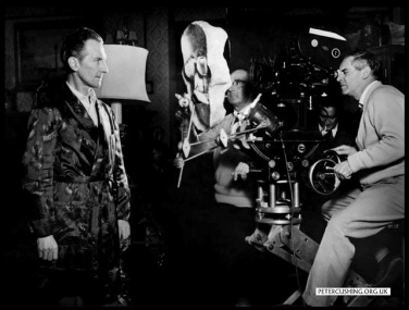 Milton Subotsky behind the camera in The skull