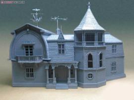 munster house model kit unpainted