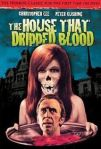 the house that dripped blood poster