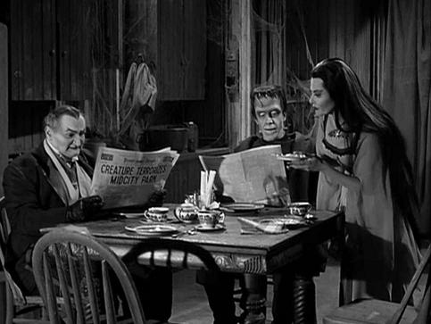 The Munsters A Monster Sitcom For Halloween Parlor Of