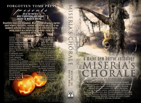 Miseria's Chorale - full cover layout.