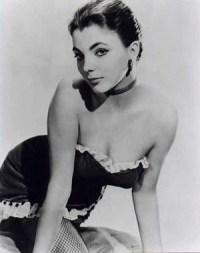 a young joan collins