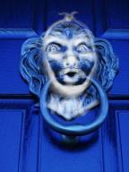scrooge door knocker