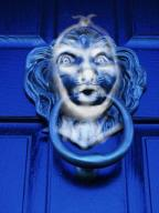 scrooge door knocker