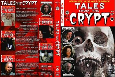 comic style dvd cover - Tales From The Crypt 1972