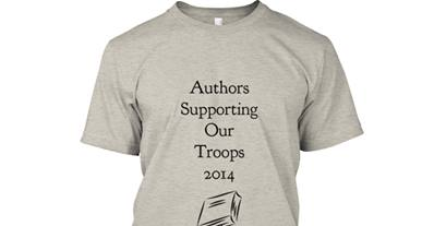 Authors supporting our troops T