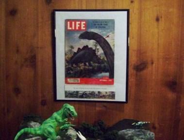 Life magazine 1953 - Dinosaur edition