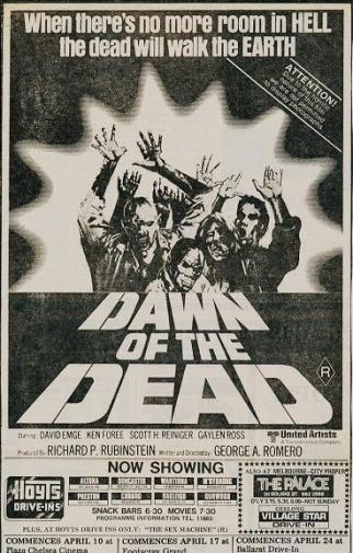 dawn of the dead now showing