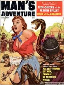 Man's Adventure - Bruce Minney Cover pic 3
