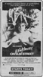 nightmare on elm street ad