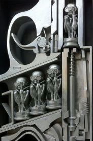 giger sculpt - birth machine