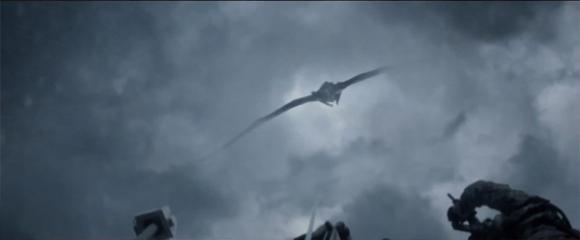 Godzilla 2014 - flying Muto