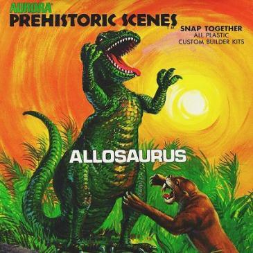 Aurora - allosaurus box