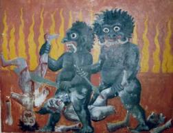 hell - budhist vision