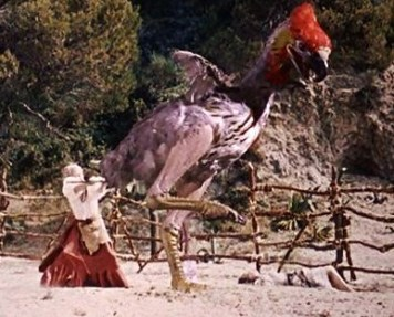 mysterious Island - giant bird