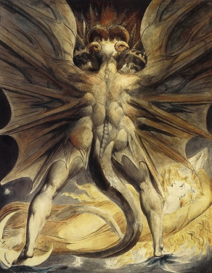 william blake - the red dragon