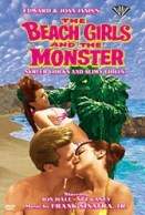 Beach Girls and The Monster dvd
