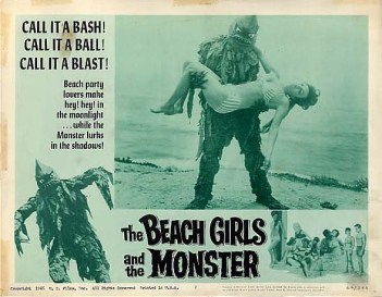 Beach Girls and The Monster pic 1