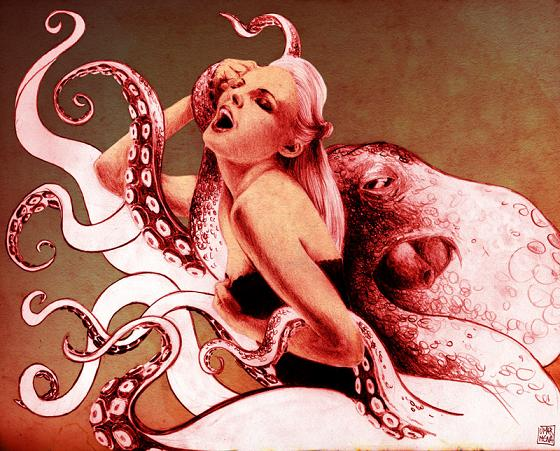 Tentacle art erotic