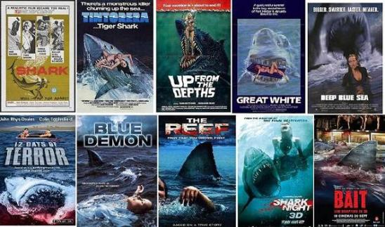 sharks movies theatrical releases