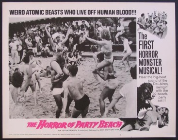 The horror of party beach poster 2