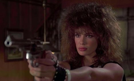 gal with a gun, everybody run!