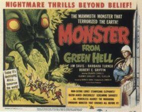 monster green hell