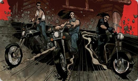 road rage - throttle comic adaptation