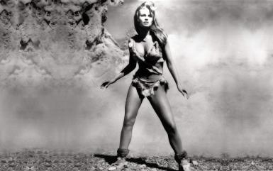 Raquel Welch - One Million Years BC promo shot