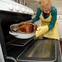 help grandma with that heavy turkey