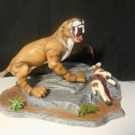 sabertooth tiger - modified - by Mike K - pic 1
