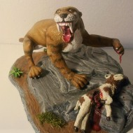 sabertooth tiger - modified - by Mike K - pic 5