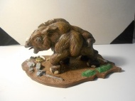 woolly rhino calf - prehistorix - by mike k - 1