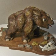 woolly rhino calf - prehistorix - by mike k - 3