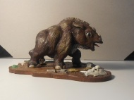 woolly rhino calf - prehistorix - by mike k - 4
