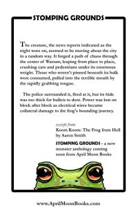 Stomping Grounds  - Koom Koom-The Frog From Hell excerpt