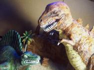 T Rex Dimetrodon battle pic 10