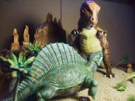 T Rex Dimetrodon battle pic 12