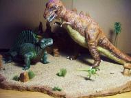 T Rex Dimetrodon battle pic 15