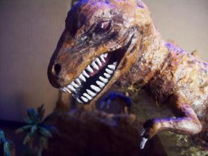 T Rex Dimetrodon battle pic 8